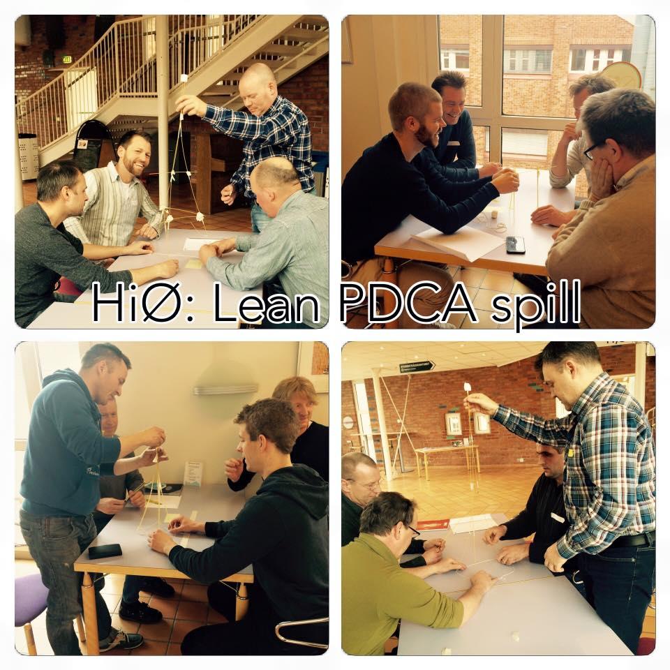 Madisa Consulting arrangerer sammen med HiØ Lean-spill i PDCA for Fredrikstad næringsforening. Spillet var engasjerende, lærerikt og gøy.